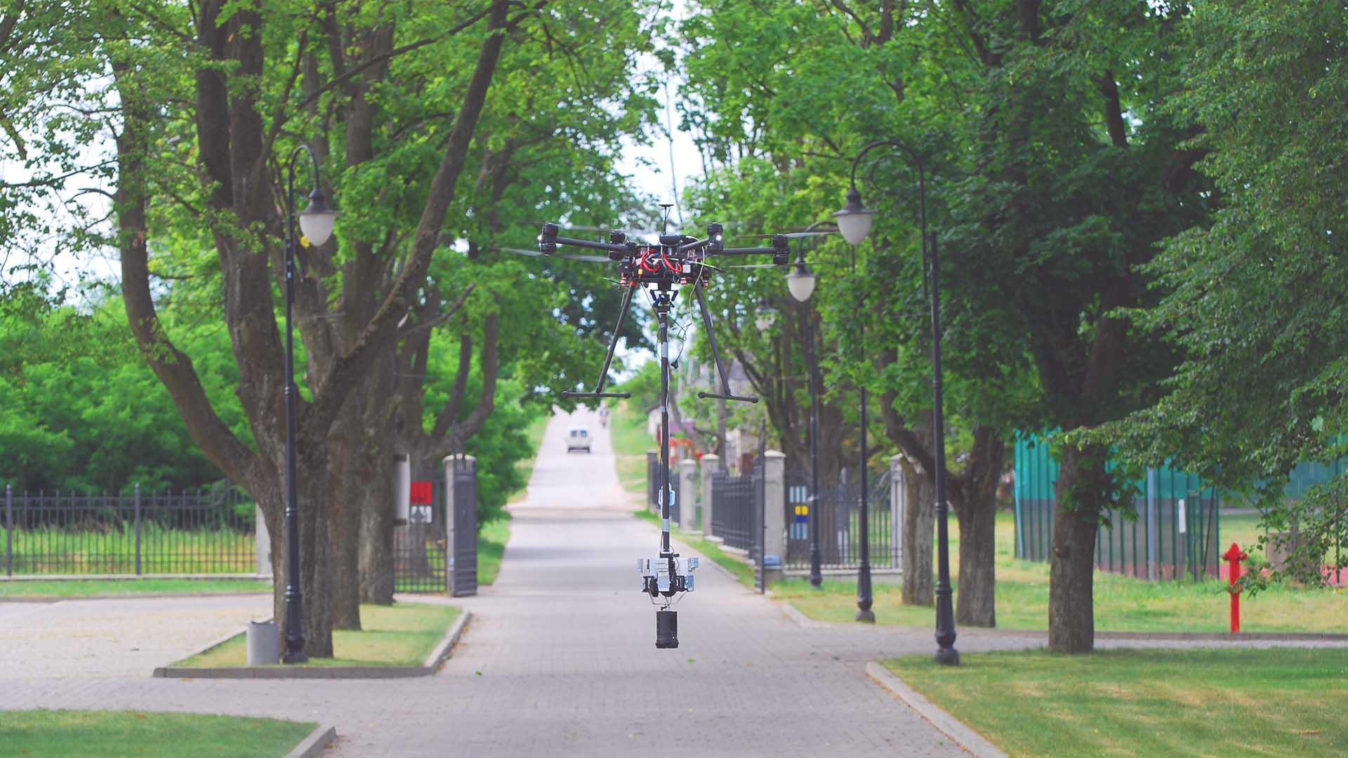 Inplanner VR 360 Pałac Domaniowski Dron